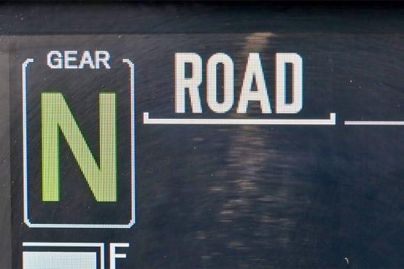 インテグレイテッドライディングモード「ROAD」
