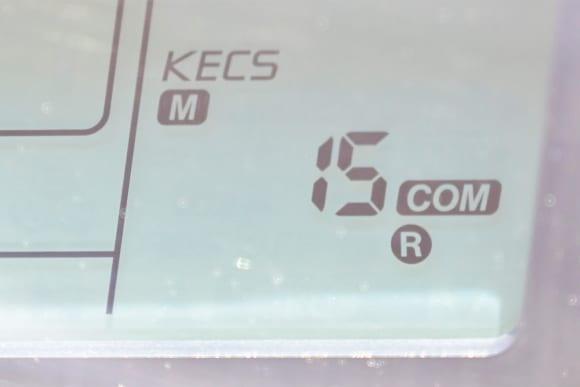 Ninja ZX-10R SE マニュアルモード R-COM-15