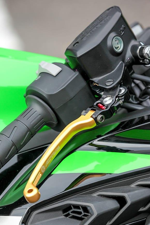 アクティブ Ninja ZX-25Rカスタム車 ブレーキレバー