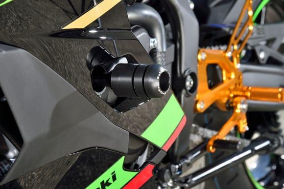 ベビーフェイス Ninja ZX-25Rカスタム車 フレームスライダー