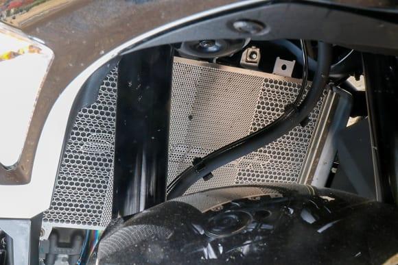 ストライカー Ninja ZX-25Rカスタム車 ラジエターコアガード