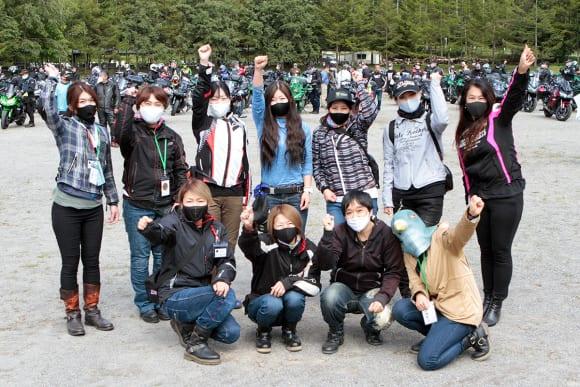 Ninja 1000 OWNER'S MEETING in ビーナスライン