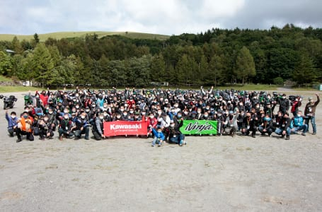 Ninja 1000 OWNER'S MEETING in ビーナスライン