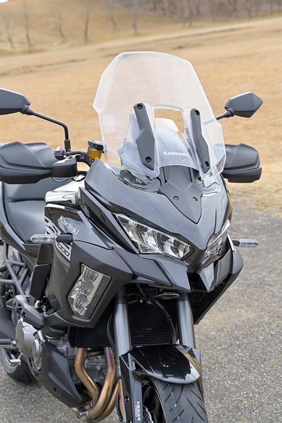 2020年モデル VERSYS 1000 SEの防風システム