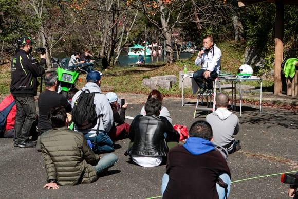 ZXR+カワサキ80sミーティング 多田喜代一さんのトークショー