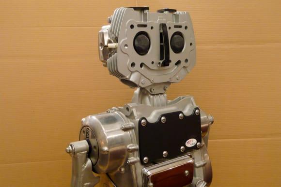 カワサキ従業員が製作した模型「Mr.CH.KZee」