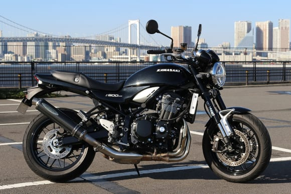 MH ASANO Z900RS/CAFE用スリップオンマフラー チタンカーボン