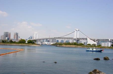 東京湾をまたぐカワサキの技術「レインボーブリッジ」
