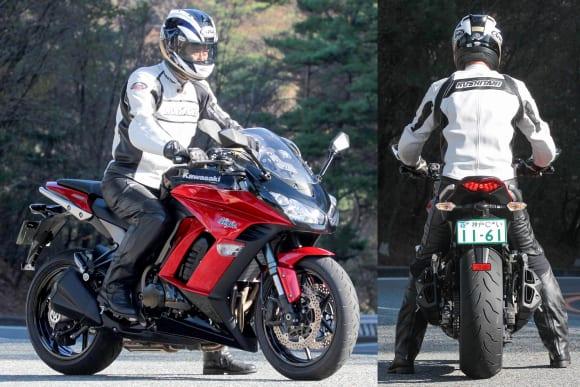 2011年モデル Ninja 1000インプレッション 足着き
