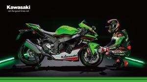 Kawasaki Racing Team バーチャル背景画像
