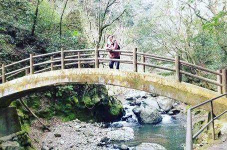 岩戸川渓谷 太鼓橋