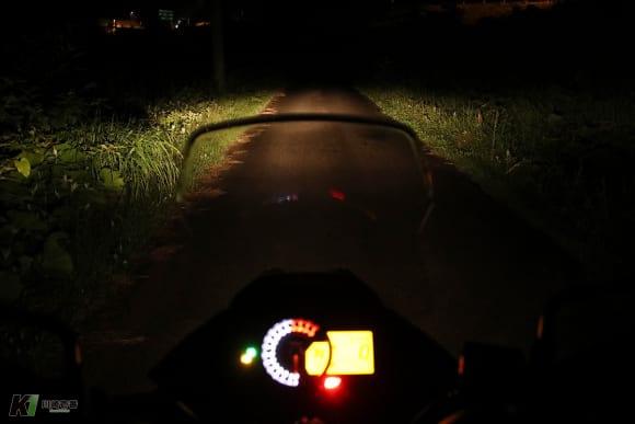 VERSYS-X 250 TOURER ヘッドライト ロー