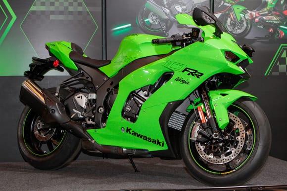 """カワサキワールド モーターサイクル企画展 """"The Champ〜頂点に輝いたマシンたち〜 2021 Ninja ZX-10RR"""