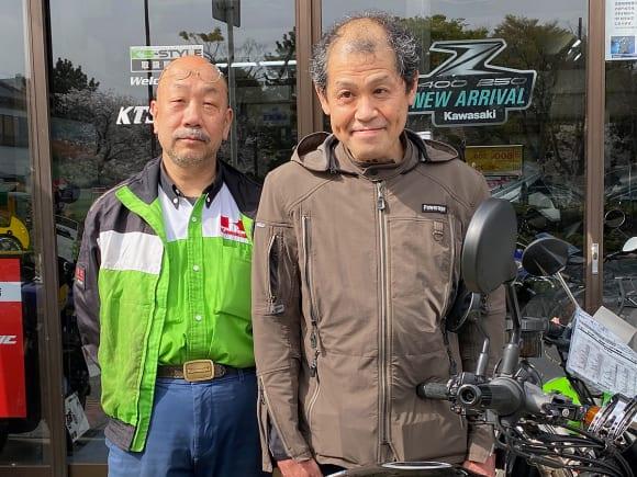 左:KTS湘南・西川さん/左:アルカディア代表・高野さん
