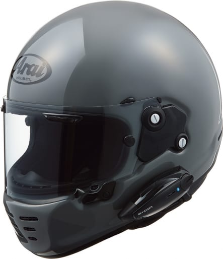 B+COM アライヘルメット・ラパイドネオに装着