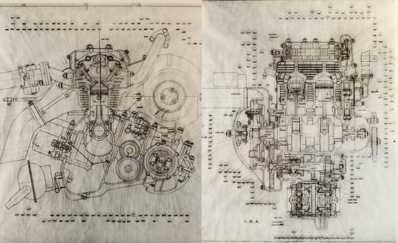 カワサキ4ストロークエンジンの原点