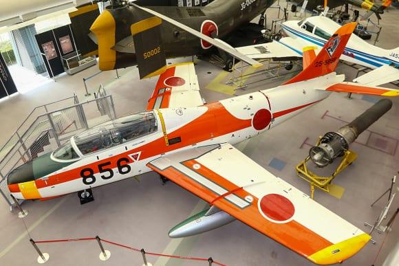 所沢航空発祥記念館所蔵 T-1B