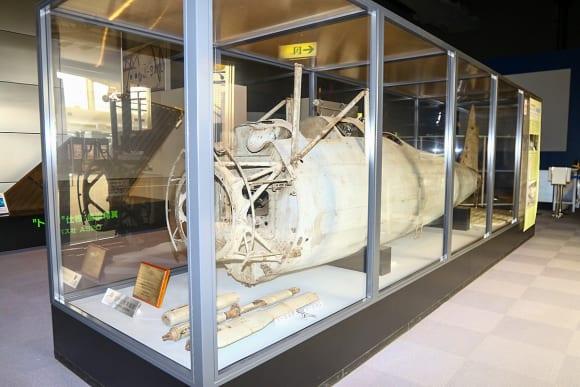 所沢航空発祥記念館所蔵 九一式戦闘機の胴体部