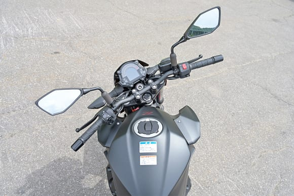 2019年モデル Z250 ハンドル切れ角