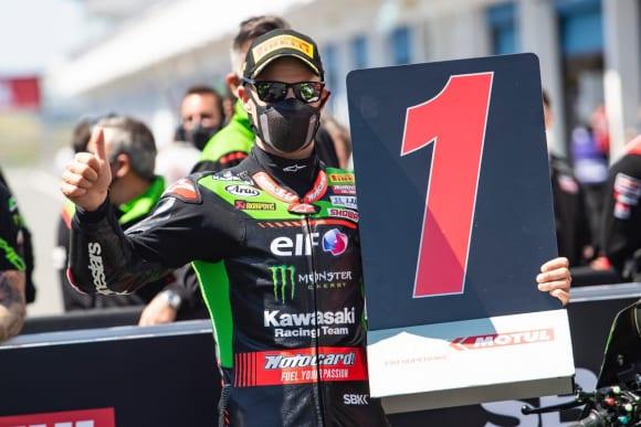 2021スーパーバイク世界選手権第2戦エストリル大会 ジョナサン・レイ選手