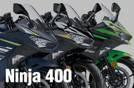 2022年モデル Ninja 400/Ninja 400 KRT EDITION