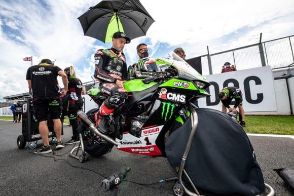 2021スーパーバイク世界選手権第4戦ドニントン・パーク大会 ジョナサン・レイ選手