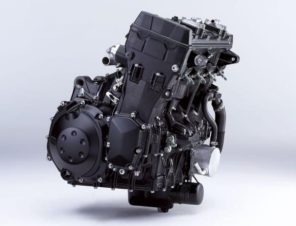 2006年に登場したZZR1400のエンジン