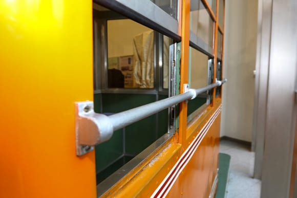 東武博物館 ゴンドラの窓