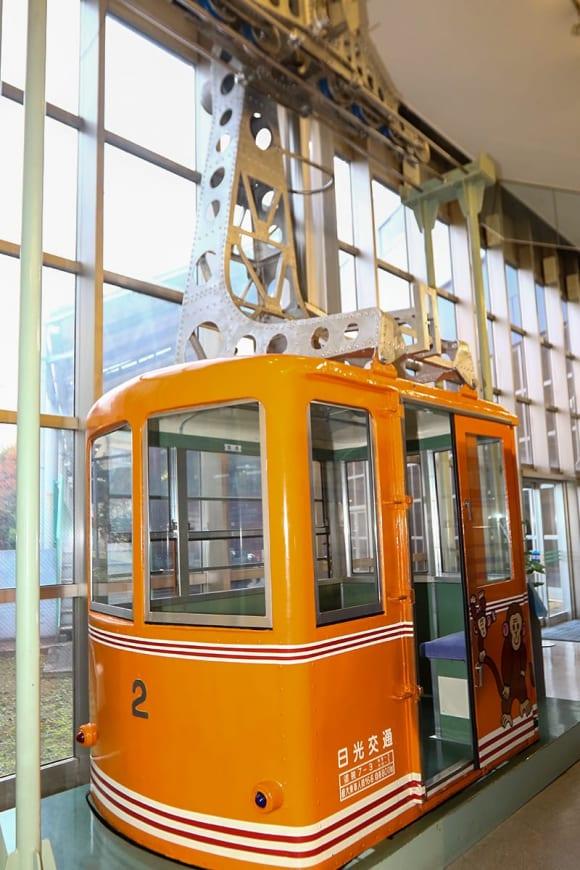 東武博物館のゴンドラ
