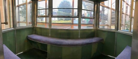 東武博物館 ゴンドラの内側
