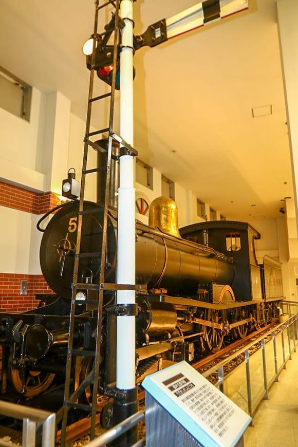 東武博物館 SLショー