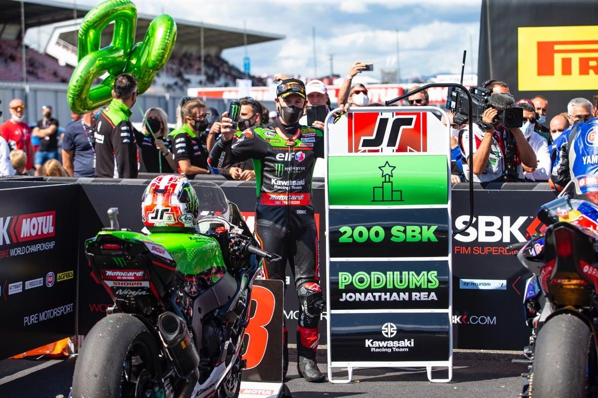 2021スーパーバイク世界選手権 第6戦 チェコ大会でジョナサン・レイ選手が通算200勝を達成!
