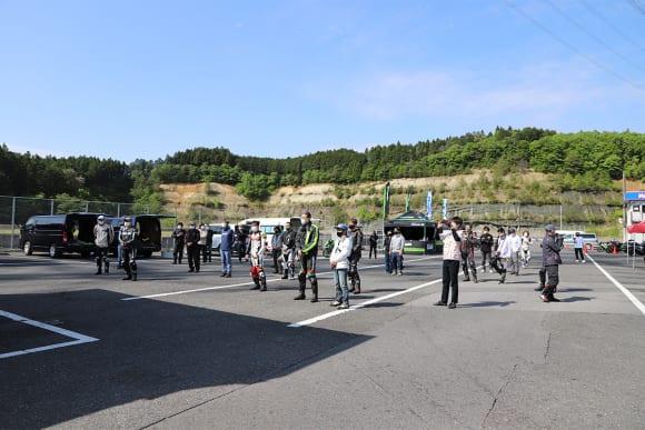 KAZEサーキットミーティング in 日光サーキット