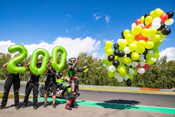 2021スーパーバイク世界選手権 第6戦 チェコ大会でジョナサン・レイ選手が200回目の表彰台獲得を達成!