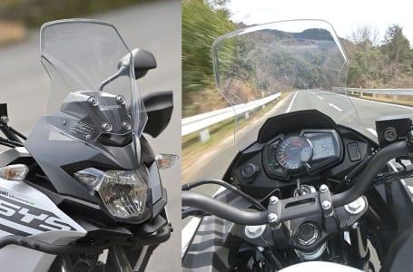 [1点集中チェック!]スクリーン VERSYS-X250 TOURER編