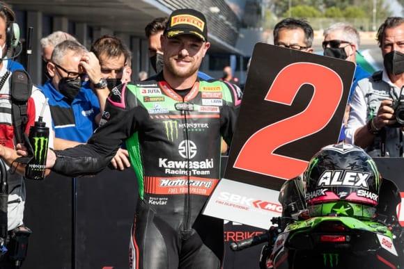 2021スーパーバイク世界選手権 第9戦カタルーニャ大会 カワサキレーシングチーム アレックス・ロウズ選手