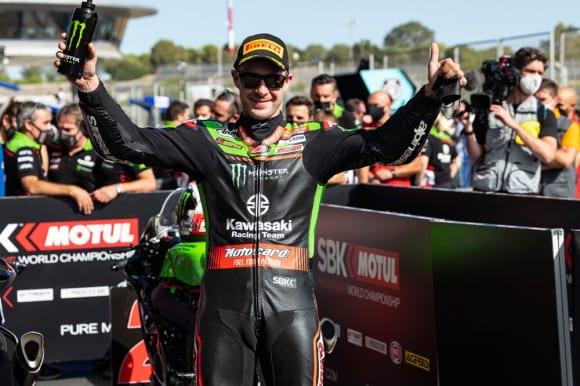 2021スーパーバイク世界選手権 第9戦カタルーニャ大会 カワサキレーシングチーム ジョナサン・レイ選手
