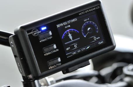 デイトナ MOTO GPS RADAR 4