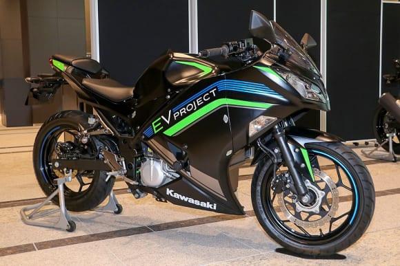 EVと水素エンジンへのカワサキの挑戦 EVプロジェクト