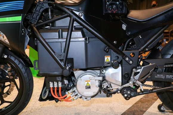 EVと水素エンジンへのカワサキの挑戦 EVプロジェクト・パワーユニット