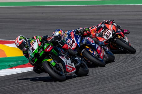 2021スーパーバイク世界選手権第11戦レースシーン