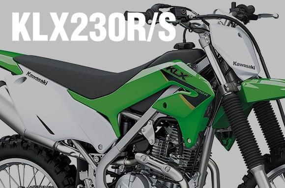2022年モデル KLX230R/KLX230R S