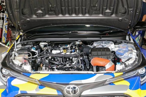 [第2回]水素エンジンの最先端 カローラH2コンセプトの水素エンジン