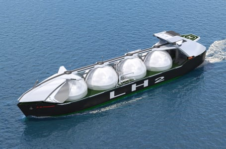 [第5回]カワサキ製液化水素運搬船