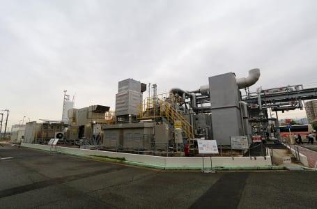 [第7回]水素ガスタービンによるエネルギー供給実験 ガスタービン発電設備