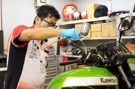 愛車の輝きを永遠に保つ、バイク専用ガラスコーティング「CR-1」